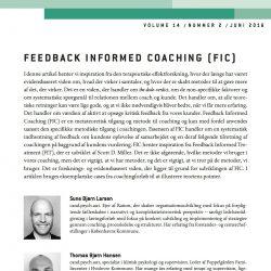 FIC i Erhvervspsykologisk Tidsskrift 2016